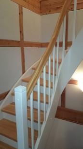 Eingestemmte Treppe